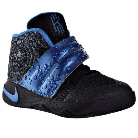 promo code 8c51f 9bf18 #289 Nike Kyrie 2 Water Drop Black Anthracite Blue